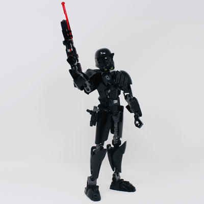 Used Set 75121 Star Wars Buildable Figure Imperial Death Trooper