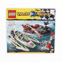 Retired Set 8897 World Racers Jagged Jaws Reef