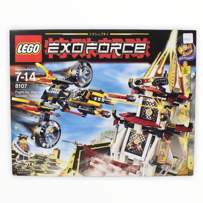 Retired Set 8107 Exo-Force Fight for the Golden Tower