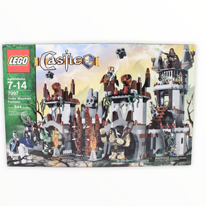 Retired Set 7097 Castle Trolls' Mountain Fortress