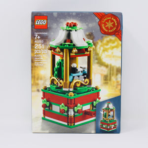 Retired Set 40293 LEGO Christmas Carousel