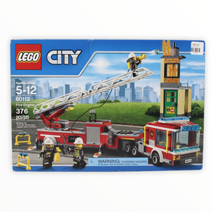 Retired Set 60112 City Fire Engine
