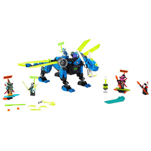 New Set 71711 Ninjago Jay's Cyber Dragon