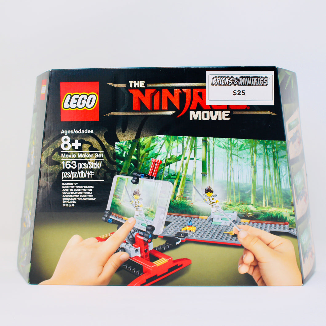 Retired Set 853702 The Ninjago Movie Movie Maker Set
