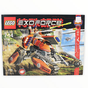 Retired Set 7706 Exo-Force Mobile Defense Tank