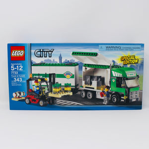 Retired Set 7733 City Truck & Forklift