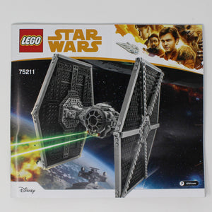 Used Set 75211 Star Wars Imperial TIE Fighter