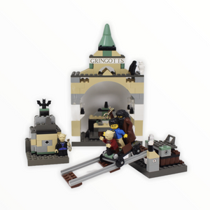 Used Set 4714 Harry Potter Gringotts Bank