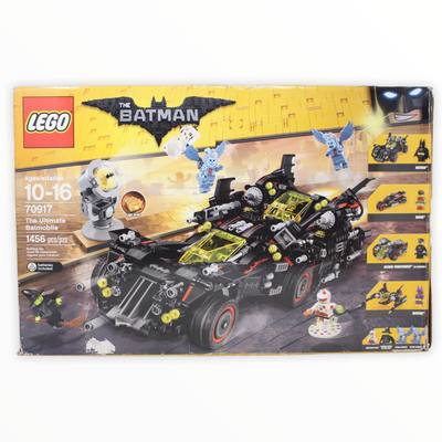 Certified Used Set 70917 LEGO Batman Movie The Ultimate Batmobile