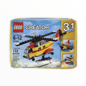 Retired Set 31029 Creator Cargo Heli