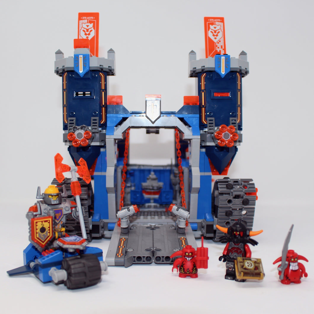 Used Set 70317 Nexo Knights The Fortrex