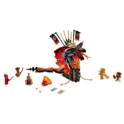 New Set 70674 Ninjago Fire Fang