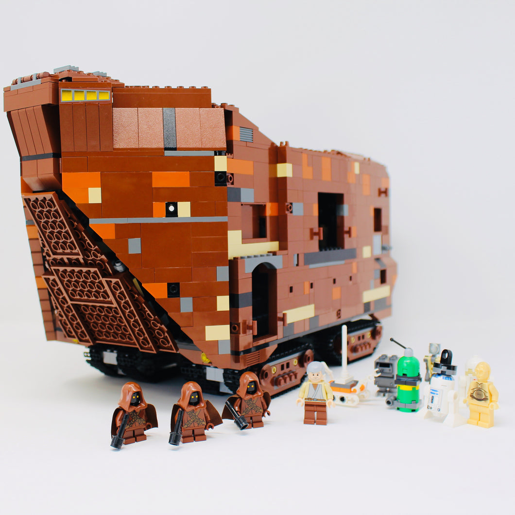 Used Set 10144 Star Wars Sandcrawler (2005)