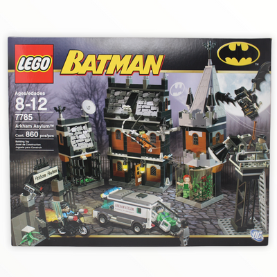 Retired Set 7785 Batman Arkham Asylum (2006)