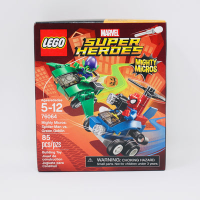 Retired Set 76064 Mighty Micros: Spider-Man vs. Green Goblin