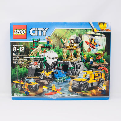 Retired Set 60161 City Jungle Exploration Site