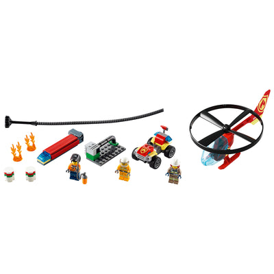 New Set 60248 City Fire Helicopter Response