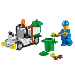 Polybag 30313 City Garbage Truck