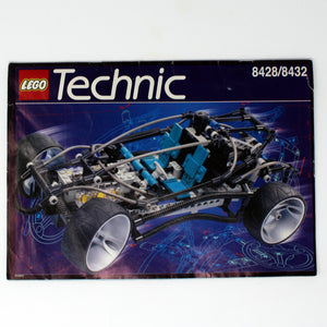Used Set 8428 Technic Supersonic Car