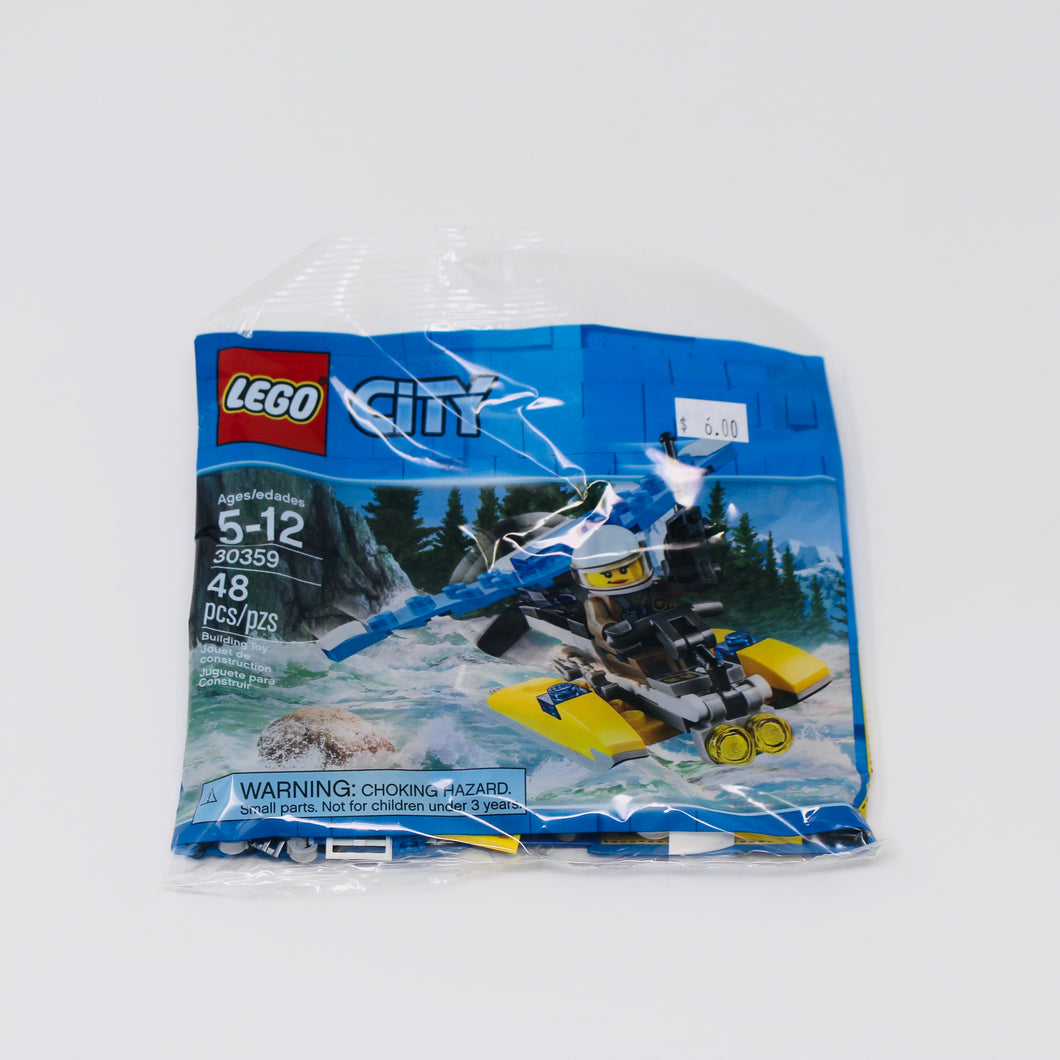 Lego 30359 City new POLICE WATER PLANE