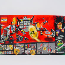 Retired Set 70640 Ninjago S.O.G. Headquarters