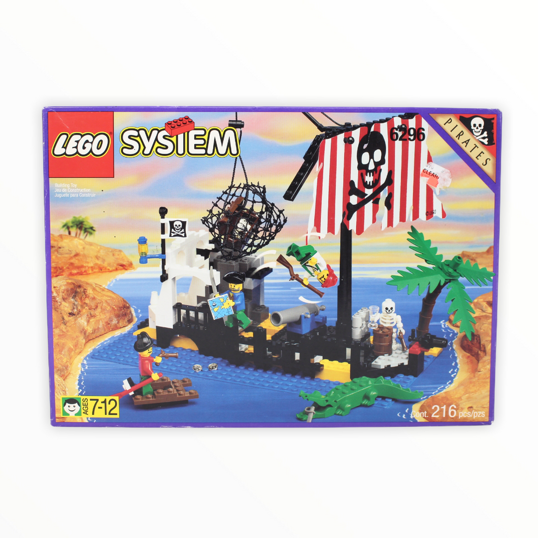 Retired Set 6296 System Shipwreck Island (1996)