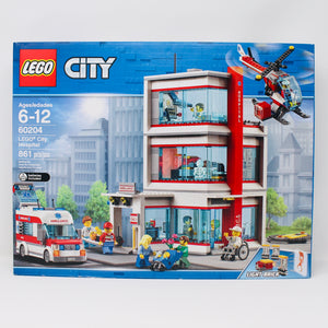Retired Set 60204 City LEGO City Hospital