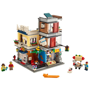 New Set 31097 Creator Townhouse Pet Shop & Café
