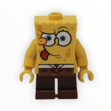 SpongeBob Squarepants (tongue out)
