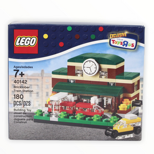 Retired Set 40142 LEGO Bricktober Train Station