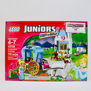 Retired Set 10729 Disney Juniors Cinderella's Carriage