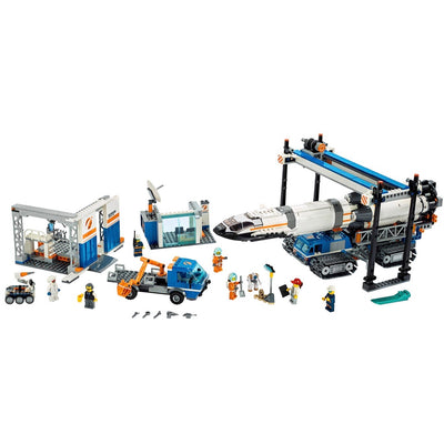 New Set 60229 City Rocket Assembly & Transport