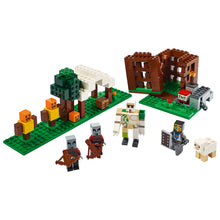New Set 21159 Minecraft The Pillager Outpost