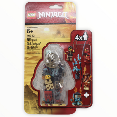 Retired Set 40342 Ninjago 2019 Minifigure Set
