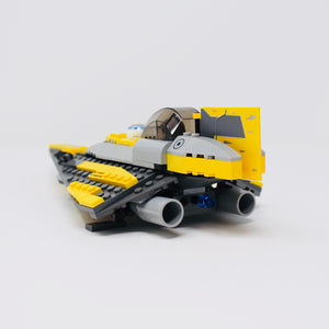 Used Set 7669 Star Wars Anakins Jedi Starfighter