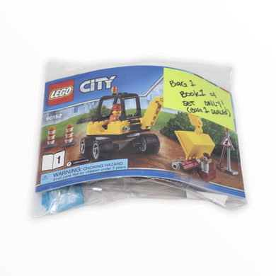 Bagged Set 60152 City Sweeper & Excavator (Excavator only)