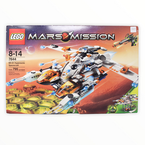Retired Set 7644 Mars Mission MX-81 Hypersonic Operations Aircraft