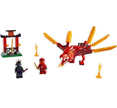 New Set 71701 Ninjago Kai's Fire Dragon