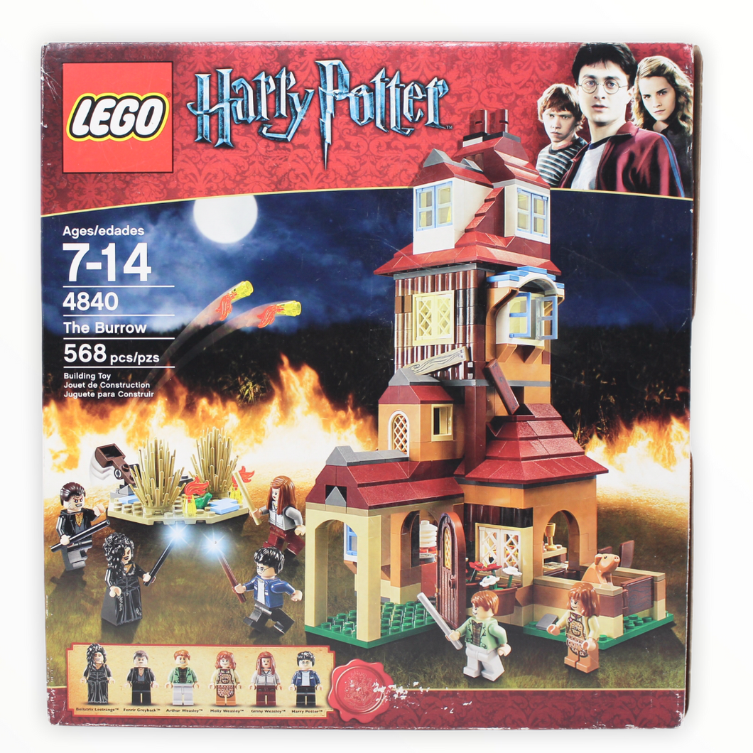 Certified Used Set 4840 Harry Potter The Burrow