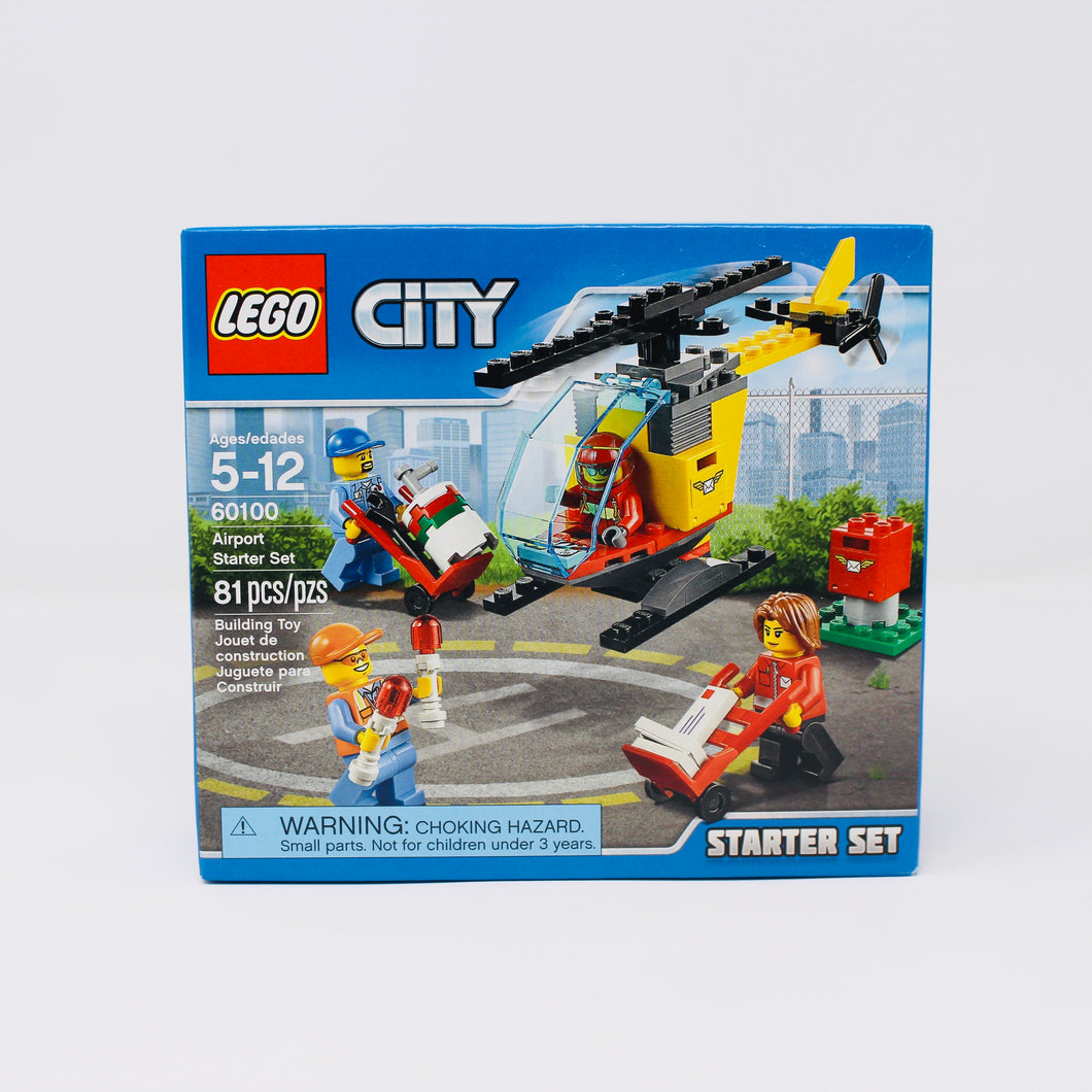 Retired Set 60100 City Airport Starter Set