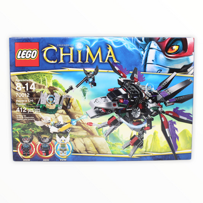 Retired Set 70012 Chima Razar's CHI Raider