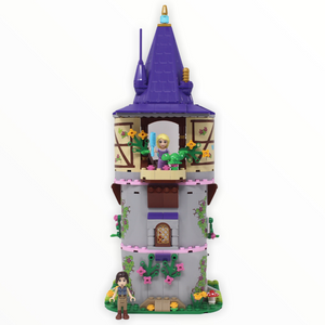 Used Set 41054 Disney Princess Rapunzel's Creativity Tower