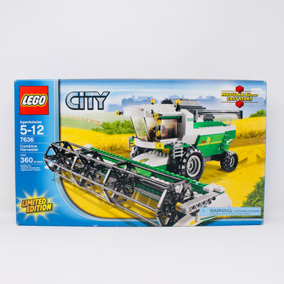 Certified Used Set 7636 City Combine Harvester