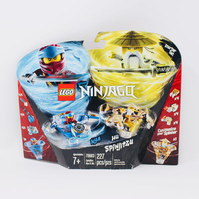Retired Set 70663 Ninjago Spinjitzu Nya & Wu