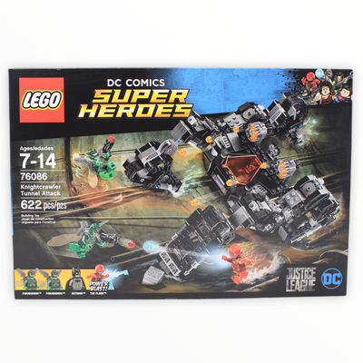 Retired Set 76086 DC Super Heroes Knightcrawler Tunnel Attack