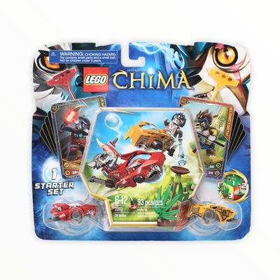 Retired Set 70113 Legends of Chima CHI Battles