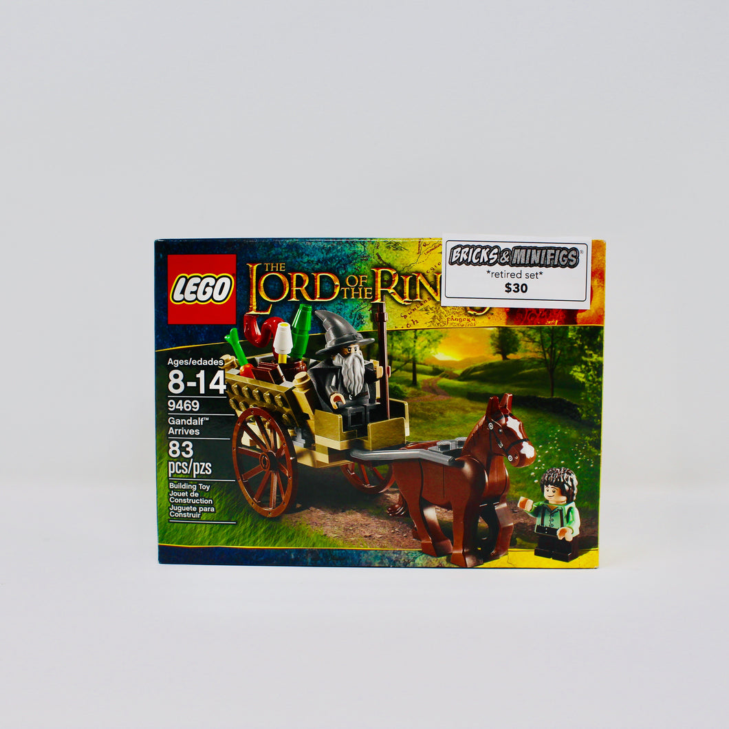 Retired Set 9469 The Lord of the Rings Gandalf Arrives