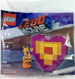 Polybag 30340 LEGO Movie 2 Emmets Piece Offering