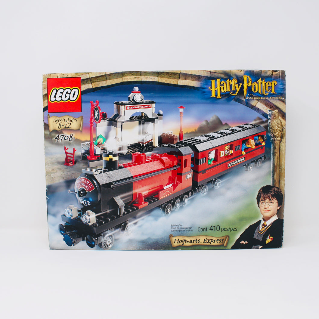 Retired Set 4708 Harry Potter Hogwarts Express