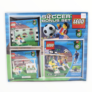 Retired Set 78800 (3403, 3418, 3419) LEGO Soccer Bonus Set